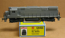 Atlas/Kato 8050 HO undecorated C424 Phase II (smooth runners)