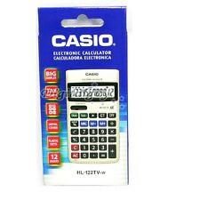 Casio Hl-122Tv Electronic Calculator Portable Type Hl122Tv /Genuine