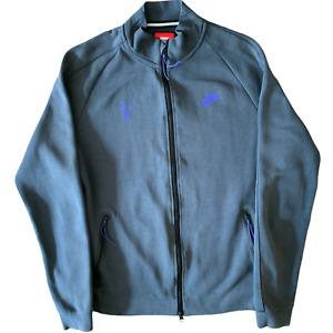 Nike Tech Jacket Mens Medium Grey Roger Federer I4