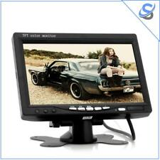 7 Inch Car Headrest Monitor - 800x480 130 Degrees Viewing Angle (Black)