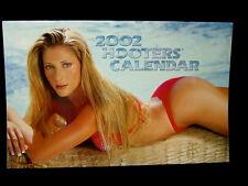 Hooters Girl Uniform Calendar 2002 Pin Up Hot Sexy Swimsuit Bikini Models