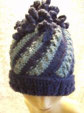 'Willow Spirals' Ladies Hat - Easy Aran Knitting Pattern