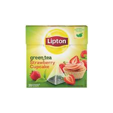 6 PACK Lipton Strawberry cupcake Premium Pyramid Tea Bags 20 per pack
