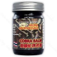 50g Original Thai Massage Snake Cobra Balm, Arthritis and Arthrosis Pain Relief