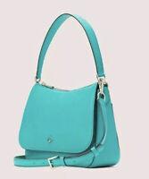 Kate Spade New York Wmns Green Polly Flap Shoulder Bag B2311