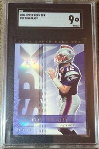 Tom Brady 2004 Upper Deck SPX SGC 9 MINT #59