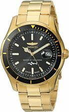Invicta Mens Pro Diver Quartz Watch W/ Stainless-Steel Strap, Gold, 9 (Model: )