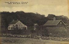 Postcard, New Salem, Mass., The Stowell Farm, (Quabbin)