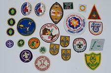 Lot 25 Boy Scout Canada Misc Patch Badges Vintage