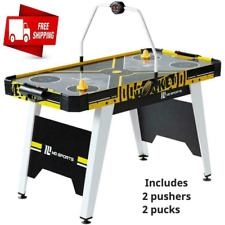 54 Inch Air Powered Hockey Sports Table Overhead Electronic Scorer Game Kids
