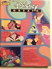 "DISNEY GREATS FOR GUITAR, 39 SONGS, BY ""STRUM IT GUITAR"", HAL LEONARD"