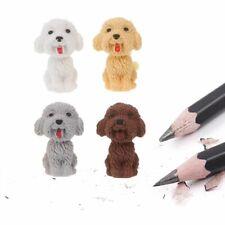 Mini 3D Cartoon Cute Dog Rubber Pencil Eraser School Student Correction Supplies