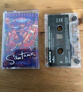 Santana - Supernatural (scarce cassette) 1999