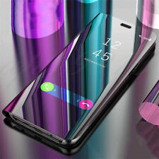 For Xiaomi Mi A3 A2 Lite A1 9 SE 9T Pro CC9 8 Smart Clear View Mirror Case Cover