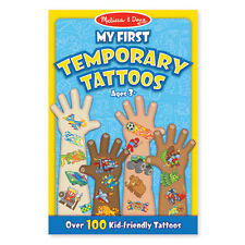 Melissa and Doug - My First Temporary Tattoos - Boy NEW kids arts craft set play