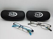 Fadz Eyeglass Frames 2x Lot NWT + Cases