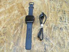 Fitbit Sense Advanced Activity Tracker Smartwatch - Carbon/Graphite ( Lot 173)