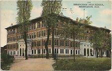 High School in Birmingham AL Postcard