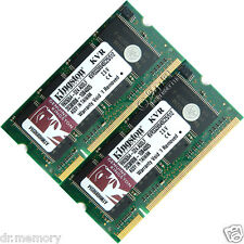 1gb (2x512mb) Ddr-333 Pc2700 Laptop (sodimm) Memoria Ram Kit de 200 patillas