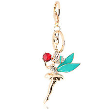 Handbag Buckle Charms Accessories Ballet Girl Fairy Keyrings Key Chains HK46
