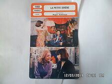 CARTE FICHE CINEMA 1980 LA PETITE SIRENE Laura Alexis Philippe Léotard E.Dress