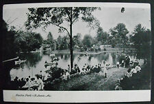 Antique Photo Postcard-Benton Park-St Louis Mo-1901 To 1907