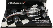 Minichamps McLaren MP4-20 Winner British GP 2005 - Juan Pablo Montoya 1/43 Scale