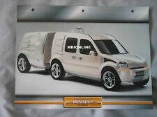 Renault Pangea Dream Cars Card