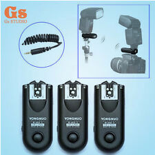 3pcs Yongnuo RF-603 II  Wireless Remote Flash Trigger C1 for Canon 1000D 600D