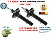 FOR VW BORA + 2.3 V5 2.8 V6 1999-2005 SPORT SUSPENSION 2X FRONT SHOCK ABSORBERS