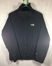 The North Face Hyvent Jacket Women's Size Small Black Windbreaker Rain Coat