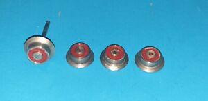 >3679 - Dampflok E-Lok Vorläuferräder Laufflächendurchmesser 1,5cm Spur 0 1