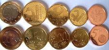 MONEDAS EURO ANDORRA 2014: DE 1€, 0,50, 0,20, 0,10, Y 0,05 CTS. SIN CIRCULAR