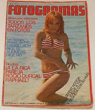 FOTOGRAMAS 1974 Frank Zappa Rocio Durcal Dustin Hoffman Victoria Vera Tarzan