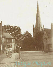1903 Solihull High Street Parish Church Warwickshire Paget Self Toning Postcard