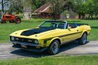 1971 Ford Mustang Convertible 1971 Ford Mustang Convertible 0 Yellow Convertible 429 V8 C6 Automatic 3-Speed