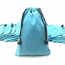 Pack Of 25 Large 7ampquot X 5ampquot Pouch Bags Elegant Velvet Drawstring Jewelry