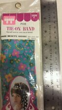 Vintage Headband / Neckband / Tie-On Scarf! Unique old hard to find retro Item!