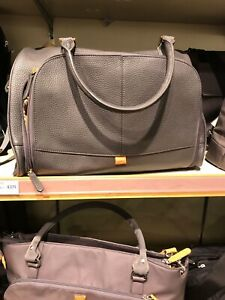 PacaPod Leather Changing Bag Light Grey - Originally £275 from John Lewis