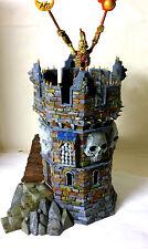 "WARHAMMER WAR GAME SCENERY "" DEATHKNELL WATCHTOWER  "" BUILDING PRO PAINTED"