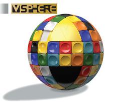 V-Cube-V sphère boule en forme de tuile Puzzle