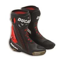 Ducati Corse C3 Racing-Stiefel TCX schwarz Motorradstiefel Boots NEU
