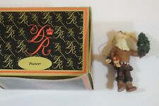 Duncan Royale Pioneer Christmas Ornament in box 1991 (a719)