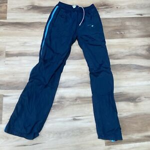 Abercrombie & Fitch Windbreaker Track Pants Mens Lined XS drawstring ankle zips