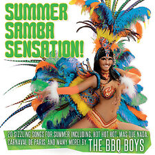 CD SUMMER SAMBA SENSATION HOT HOT MAS QUE NADA OLE OLE TO BRAZIL LAMBADA ETC