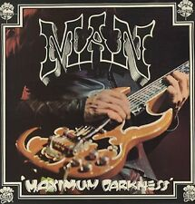 MAN Maximum Darkness 1975 UK vinyl LP + POSTER EXCELLENT CONDITION
