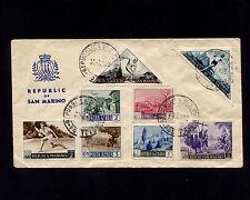 OPC 1953 San Marino Multi Issues Philetlic Cover