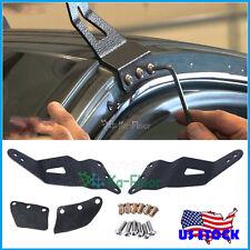 2x Windshield 52inch Curved Light Bar Mount Brackets For Chevrolet Silverado GMC