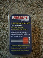 "AIRSEPT 1/2"" A/C Line Blockoff Rear Delete Terminator Fitting"