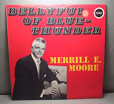 33 TOURS - JAZZ - Bellyfull Of Blue Thunder - MERRILL E MOORE - EMBER 3392  *